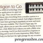 bible app article