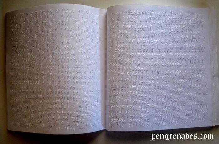 braille Playboy magazine inside